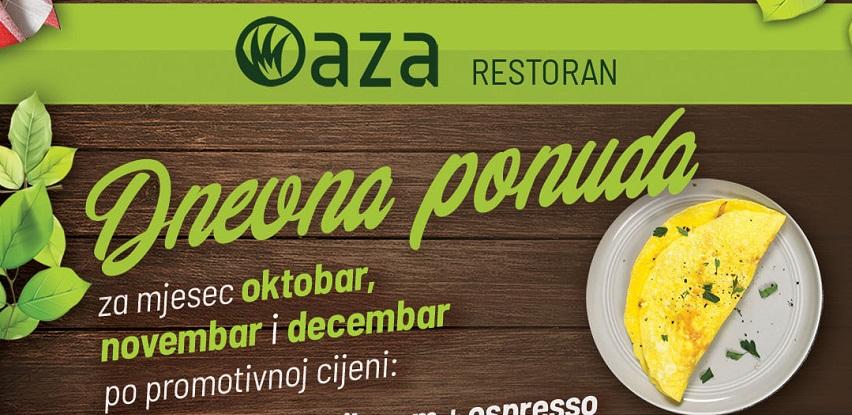 restoran oaza dnevna ponuda jela