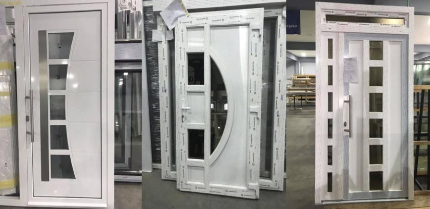 Aluminijska i PVC ulazna vrata vrhunskog kvaliteta