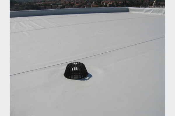 Finalni izgled ravnog krova sa PVC membranom