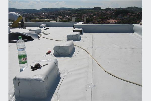 Hidroizolacija-PVC membranama