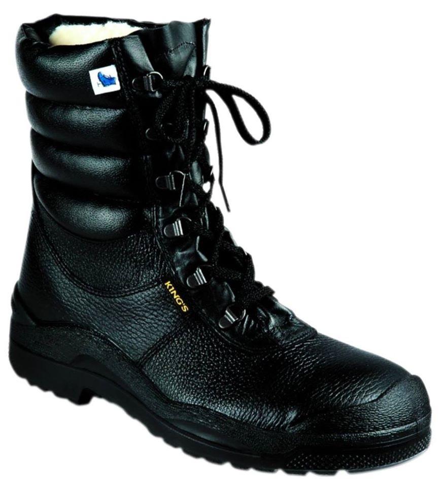 King's S3 čizme za zaštitu na radu, sa postavom i pertlama Brand: ROCKSAFETY