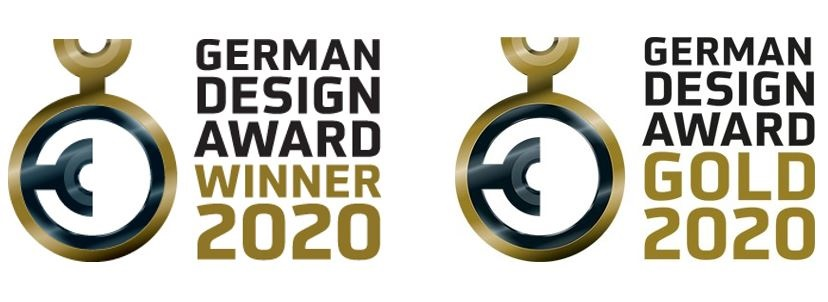 German Design Award Winner 2020 & German Design Award Gold 2020
